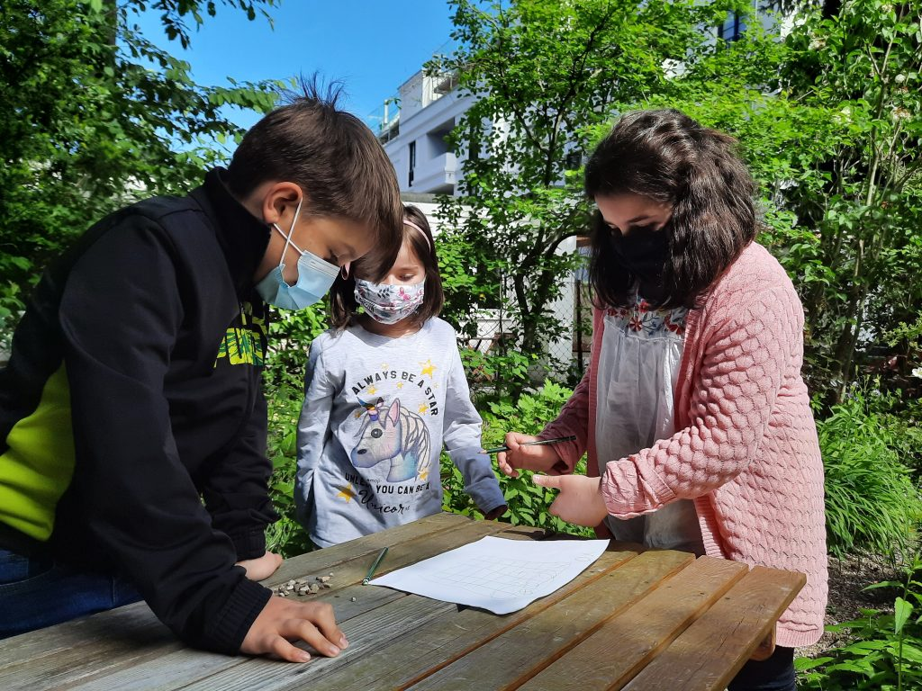 Lernen im Garten